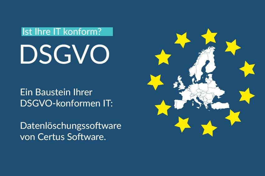 DSGVO Information Certus Software