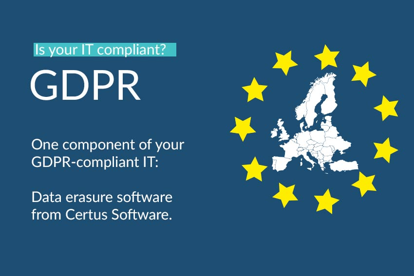 GDPR information Certus Software